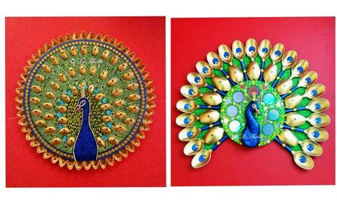 peacock wall decors    waste