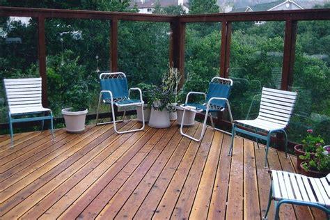 deck glass walls colorado springs decks  schmillen