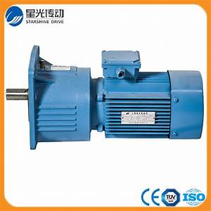 China Ncj Series Flange Mounted Helical Gearbox  Geared