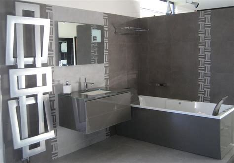 d 233 co salle de bain en gris et blanc exemples d am 233 nagements