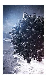 3D Abstract Dark Digital Art Lacza - WallDevil