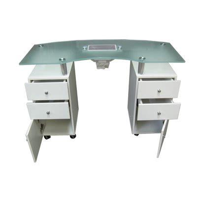 table de manucure 11 blanche avec aspirateur