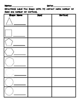 identifying polygons worksheet by saddle up for 2nd grade