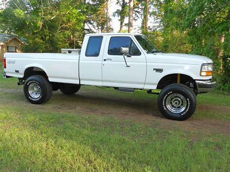 Buy used 1996 Ford F250 Powerstroke 7.3 diesel 4x4 super