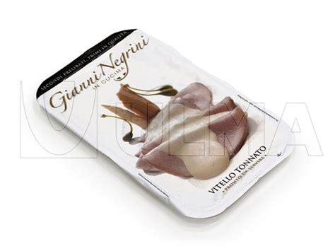 Modified Atmosphere Packaging Cooked by Cooked Vitello Tonnato Packaging In Traysealing With