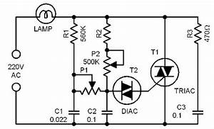 light dimmer circuit page 2 light laser led circuits With triac circuit