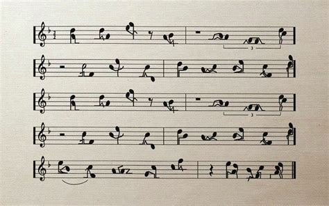 Music Funny Sketches Sex Notes Positions Wallpaper