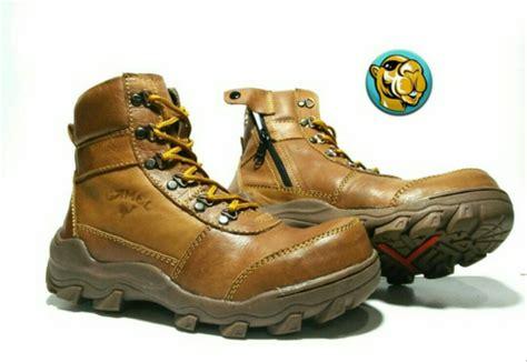 jual sepatu camel boots tracking boot safety ujung besi kulit asli adventure gurun gunung
