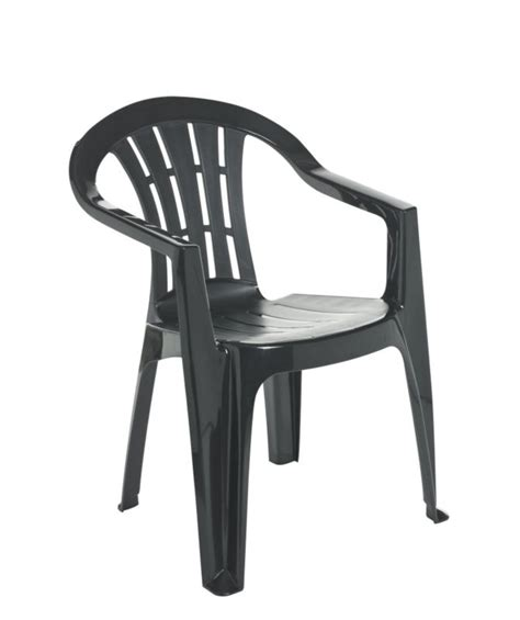 b q blooma henley green resin garden dining chair