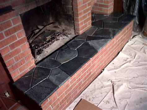 Soapstone Hearth Slab by 187 Soapstone Fireplaces