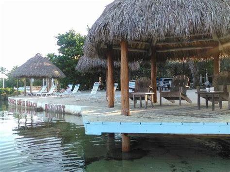 Tiki Hut Resorts - tiki huts next to small picture of sunset