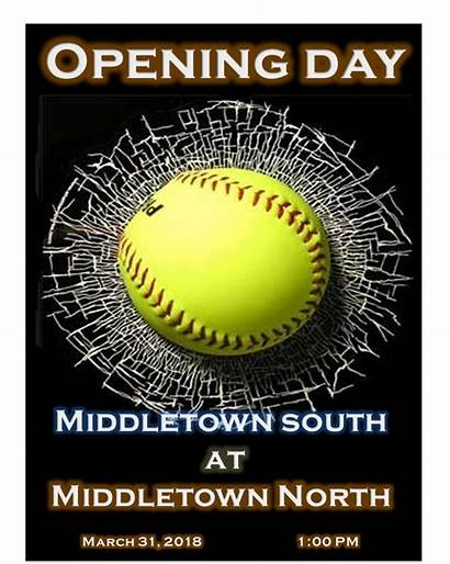 Softball Middletown North Lady Rival Program Come