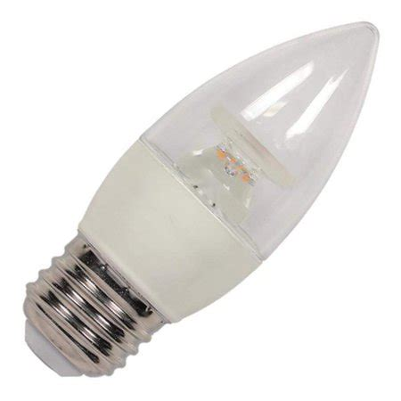 led light bulbs walmart westinghouse 33144 5b11 led dim cl cb 27 3314400 blunt