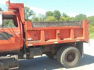 1987 Ford L8000 Dump Truck With Snow Plow