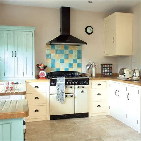 colourful shaker style kitchen kitchen design decorating ideas housetohome co uk