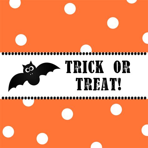 Free Printable Halloween Candy Bar Wrappers