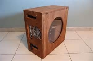 PC Computer Case Wood