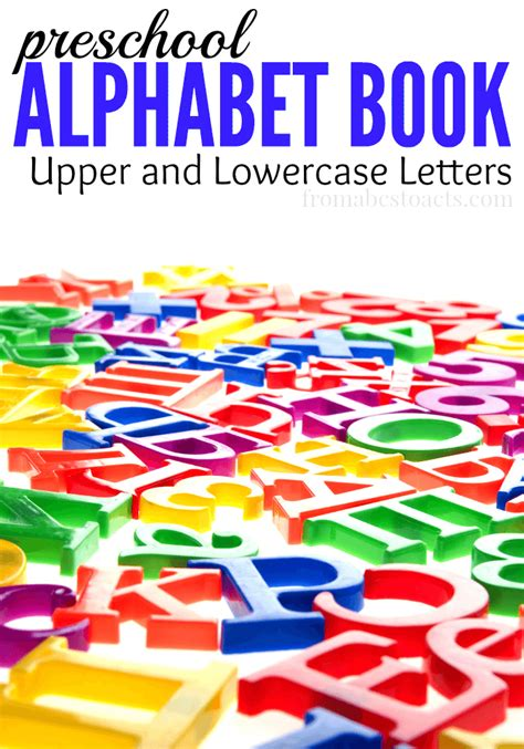 alphabet book for preschoolers from abcs to acts 914 | Alphabet Book