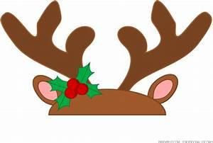 Reindeer Antlers Transparent Background Clipart - Full ...
