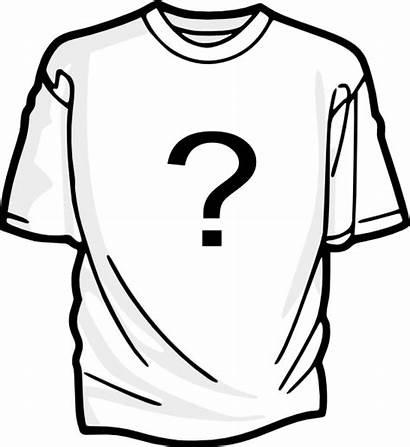 Shirt Mark Question Clip Tshirt Clipart Clker