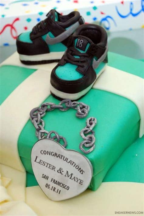 Nike Jordan Baby Shower Cake