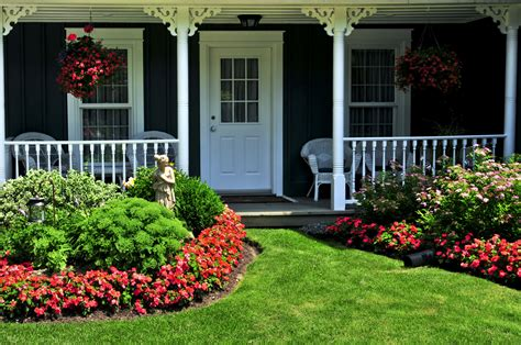 front lawn landscaping ideas low maintenance landscaping for curb appeal the allstate blog