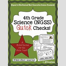 Reinforce Key Science Concepts All Year! This Quick Check Spiral Review Features 30 Short Review