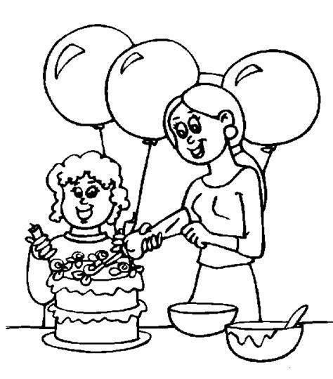 Cumpleanos Dibujos Para Colorear Dibujos1001 com