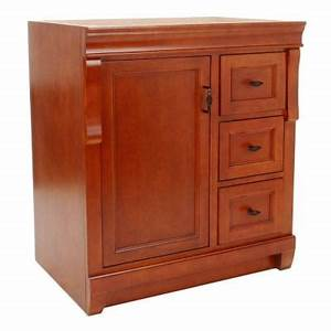 Foremost naples 30 in vanity cabinet only in warm for Home depot bathroom cabinets