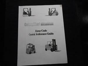 Caterpillar   Mitsubishi Error Code Quick Reference Guide