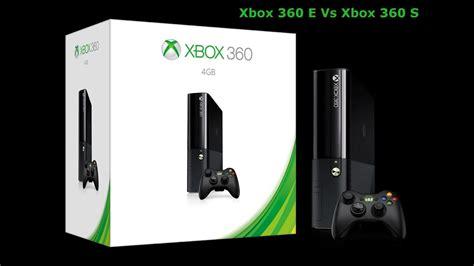 xbox 360 e vs xbox 360 s
