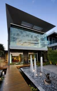 contemporary modern house of architecture gorgeous modern facade by finnis architects