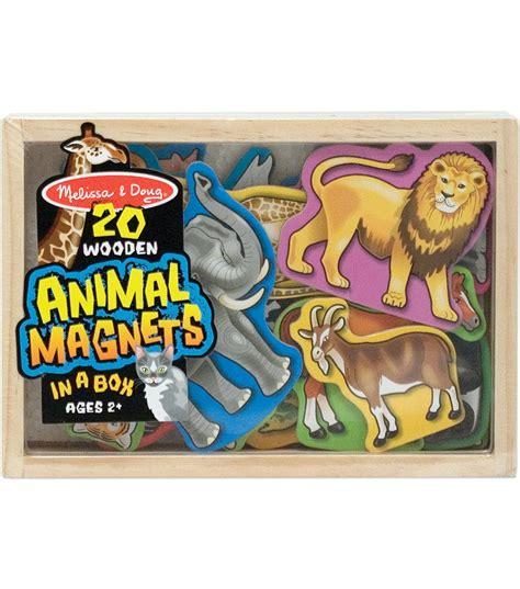 Wooden Magnets Animals 20pkg Jo Ann