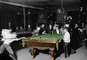 Vintage Pool Hall Photograph by Andrew Fare