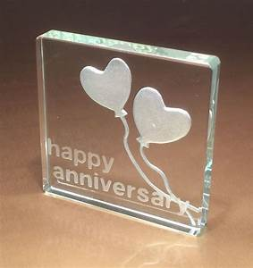 25th Silver Wedding Anniversary Gifts Spaceform Glass