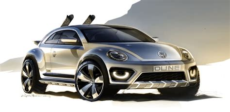 Volkswagen Beetle Dune Concept Brings Sunshine To Detroit