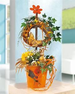 Creation Avec Des Pots De Fleurs : couronne avec un pot en terre id e ou mod le de cr ation ~ Melissatoandfro.com Idées de Décoration