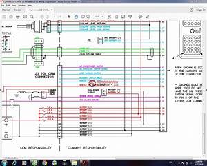 Cummins Isb Cm55x 23 Pin 3666325-02 Wiring Diagram