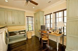 Kitchen Office Combo by How To Create An Office In A Laundry Room At The Picket