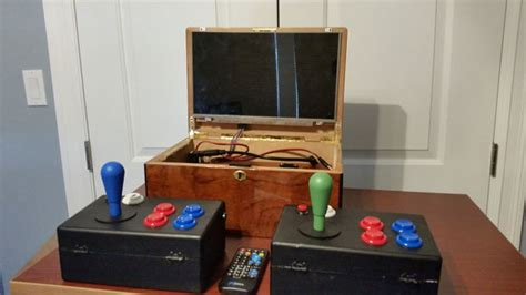 portable arcade and media player do it yourself