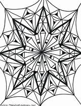 Kaleidoscope Coloring Pages Drawing Simple Getdrawings Sketch Template sketch template