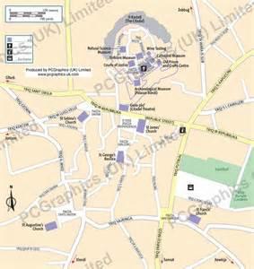 Victoria Gozo Malta Map