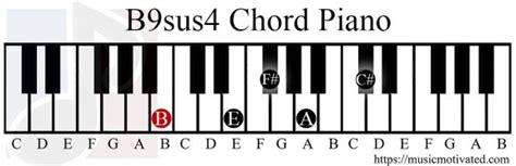 B9sus4 chord
