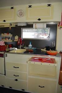 17 best ideas about trailer interior on pinterest camper With kitchen colors with white cabinets with happy camper sticker
