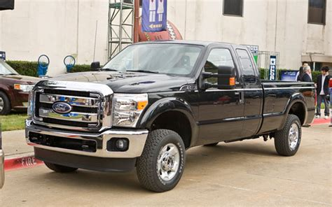 Ford Announces 2011 F-series Super Duty Power And Pulling