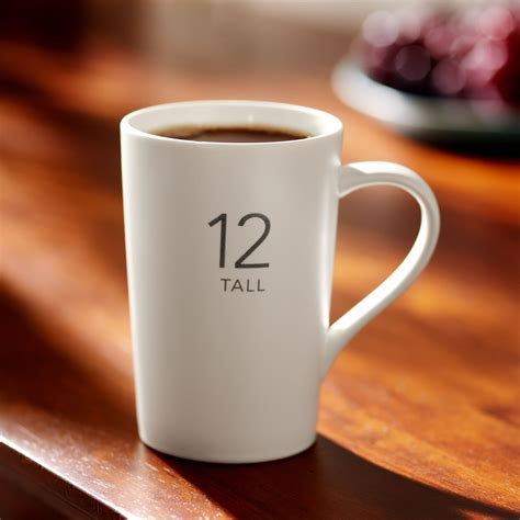 Coffee mugs are essential for optimal enjoyment, whether you sip at home or on the road. Starbucks® Modern Classic Mug, 12 fl oz A Tall-sized coffee mug that serves up classic style in ...