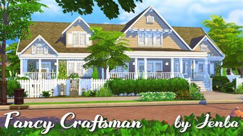fancy craftsman house  jenba sims sims  updates