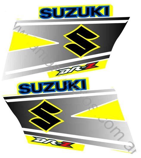 Suzuki Motorcycle Decals by Suzuki Dr250z Drz250 Drz 250 Kit Decals Tank