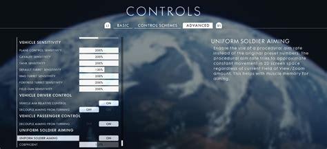 settings battlefield mouse ps4 cronusmax