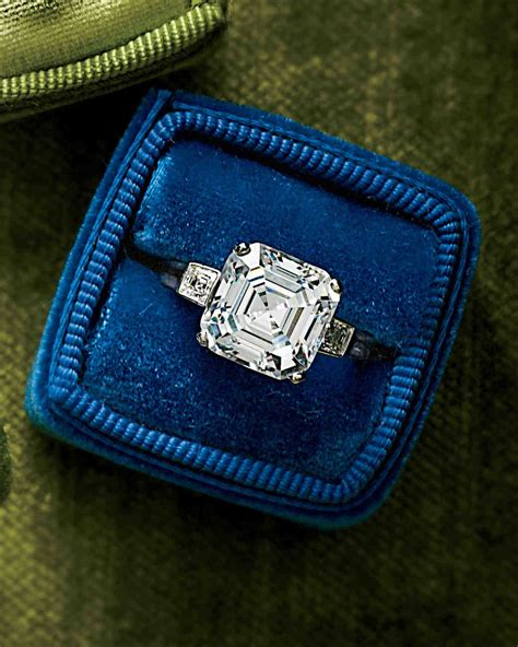 44 engagement rings with brilliant cut and color martha stewart weddings